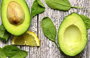 Avacado and Spinach